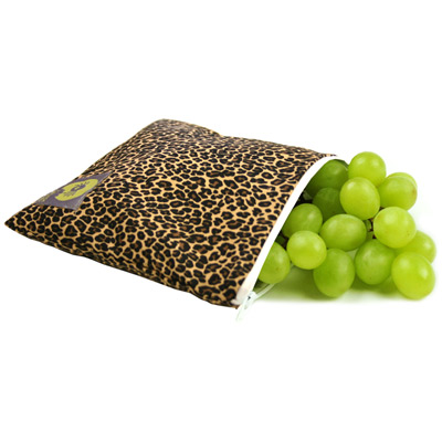 Itzy Ritzy Leopard Print Reusable Snack Bag